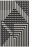 rug #1296623 |  white check rug