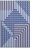 rug #1296631 |  blue check rug