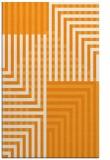 rug #1296691 |  light-orange check rug