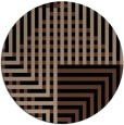 rug #1296715 | round brown check rug