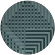 rug #1296773 | round retro rug