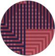 rug #1296793   round check rug