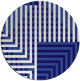 rug #1296799   round blue-violet retro rug