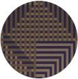 rug #1296803 | round beige check rug