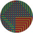 rug #1296821 | round check rug