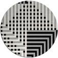 rug #1296849 | round check rug