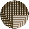 rug #1296859 | round check rug