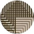 rug #1296860 | round check rug