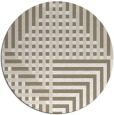 rug #1296863 | round mid-brown retro rug
