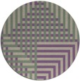 rug #1296887 | round purple retro rug