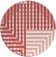 rug #1296939 | round check rug