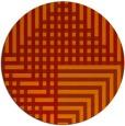 rug #1296966 | round check rug