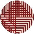 rug #1296970   round check rug