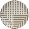 rug #1297018 | round check rug