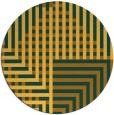 rug #1297033 | round check rug