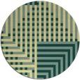 rug #1297037 | round check rug