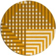 rug #1297055 | round light-orange graphic rug