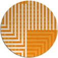 rug #1297059 | round light-orange check rug