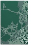 rug #1298227 |  blue-green abstract rug