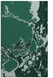 rug #1298307 |  blue-green abstract rug