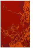 rug #1298435 |  orange abstract rug