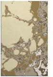 rug #1298495    yellow abstract rug