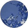 rug #1298587 | round blue abstract rug