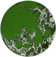 rug #1298683 | round green abstract rug
