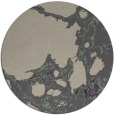 rug #1298727 | round purple abstract rug