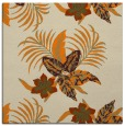 rug #1299275 | square orange rug