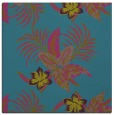 rug #1299355 | square blue-green popular rug
