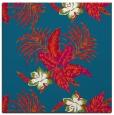 rug #1299395   square blue-green natural rug