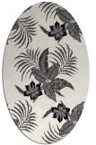 rug #1299650 | oval natural rug