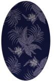 rug #1299727 | oval blue-violet popular rug