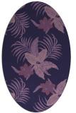 rug #1299739 | oval purple popular rug