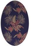 rug #1299747 | oval beige natural rug