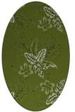 rug #1299771 | oval natural rug