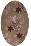 rug #1299803 | oval beige natural rug