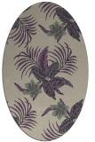 rug #1299831 | oval beige popular rug