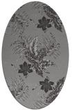 rug #1299869 | oval natural rug