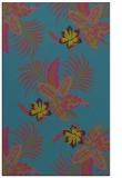 rug #1300091 |  pink popular rug