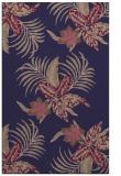 rug #1300115 |  blue-violet natural rug