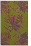 rug #1300359 |  light-green natural rug