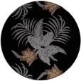 rug #1300387 | round black natural rug