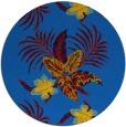 rug #1300411 | round blue popular rug