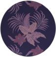 rug #1300475 | round blue-violet rug