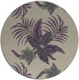 rug #1300567 | round purple natural rug