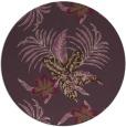 rug #1300623 | round purple popular rug