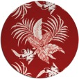rug #1300647   round red natural rug