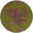 rug #1300727 | round light-green rug